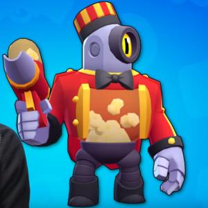 скин персонажа попкорн