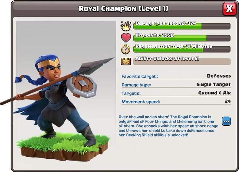 Новый герой Королевский чемпион