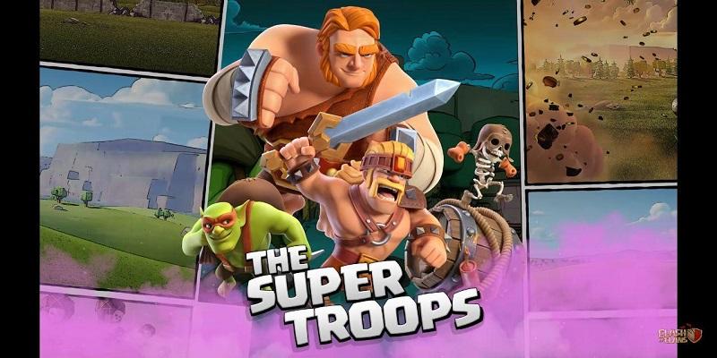 супер войска в Clash of clans 13.180.3